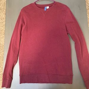 Maroon Crewneck sweater from H&M